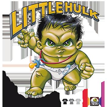 Camiseta  Hulk bebé