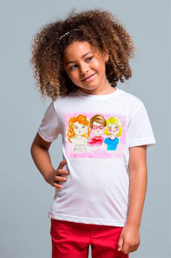 Camiseta para tus niños