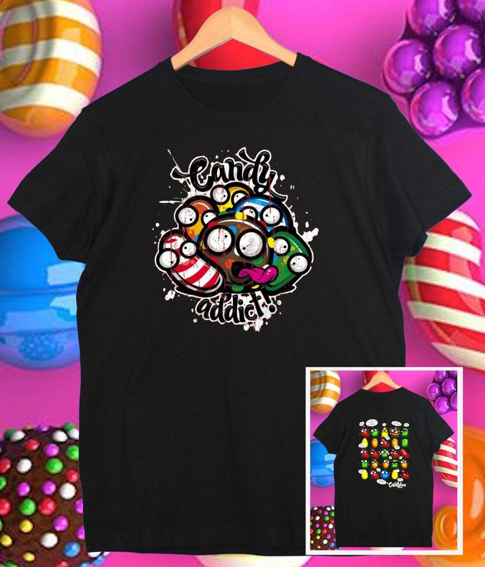 Camiseta candy crush
