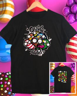 Camiseta candy crush