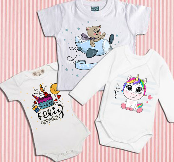 Ropa bebé para personalizar